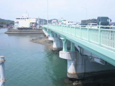 やっぱり旭橋です。