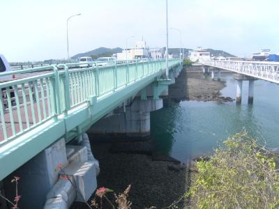 旭橋なんです。
