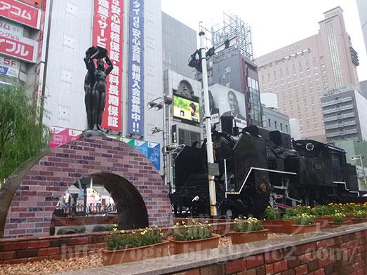 西新橋超大吉田そばの巨大かき揚げ003