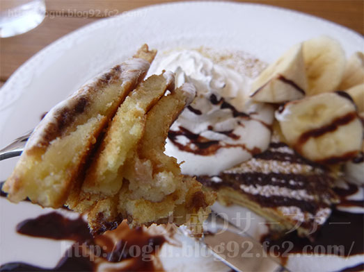 トーランスベイサイドカフェイオン幕張でパンケーキ028