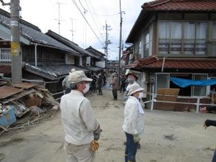 山口県萩市須佐豪雨災害ボランティア 003