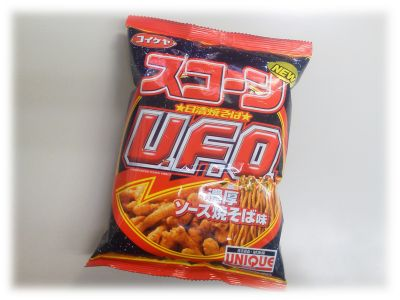 コイケヤ スコーン 日清焼そばU.F.O. 濃厚ソース焼そば味