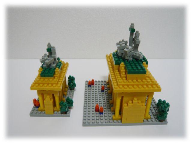 ブランデンブルク門&mini