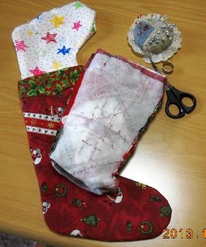 クリスマスブーツ13