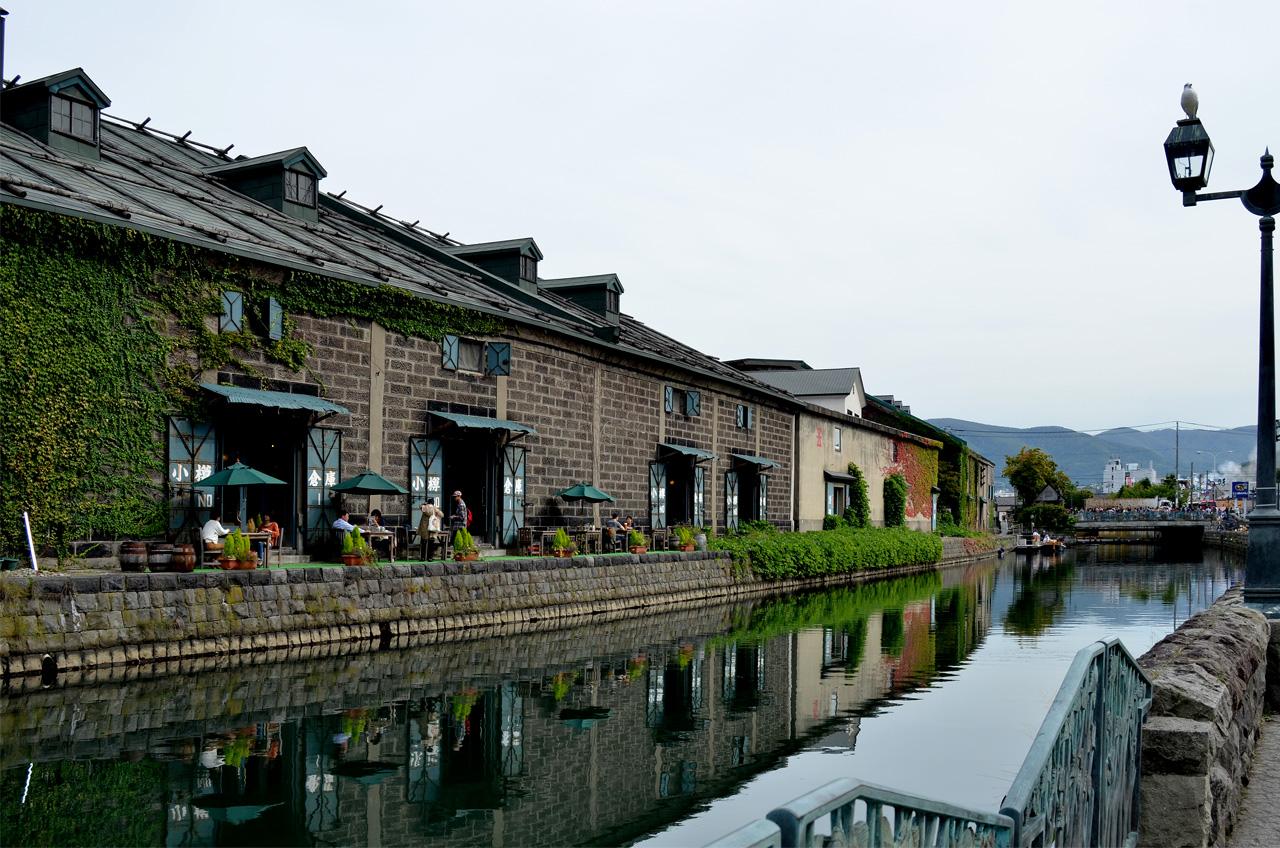 秋の運河2