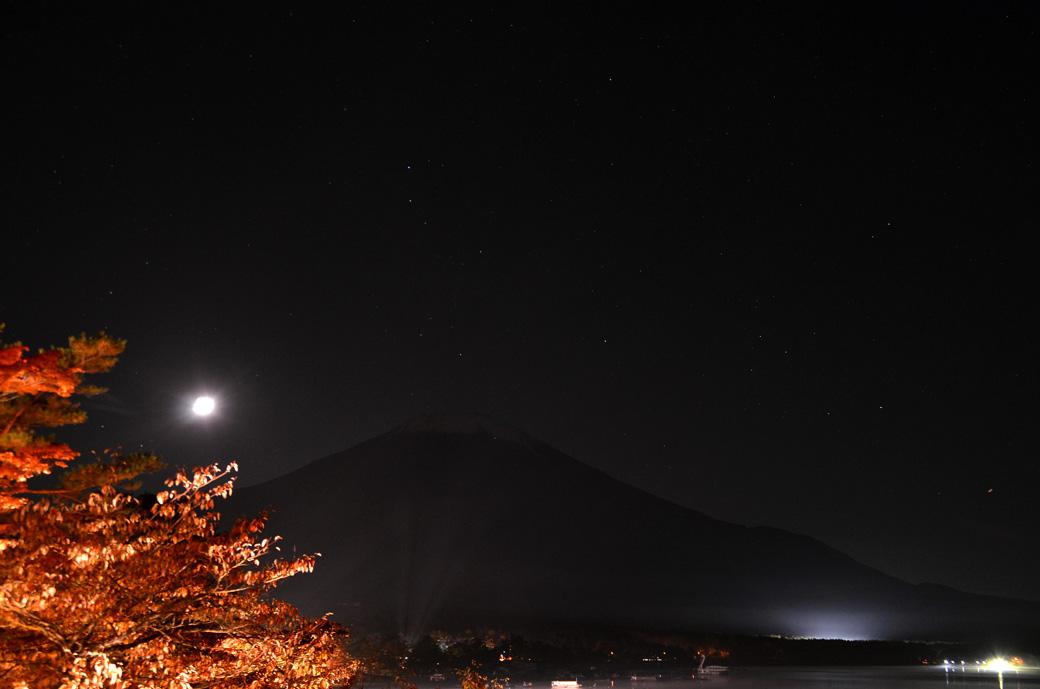 D70_6310山中湖夜