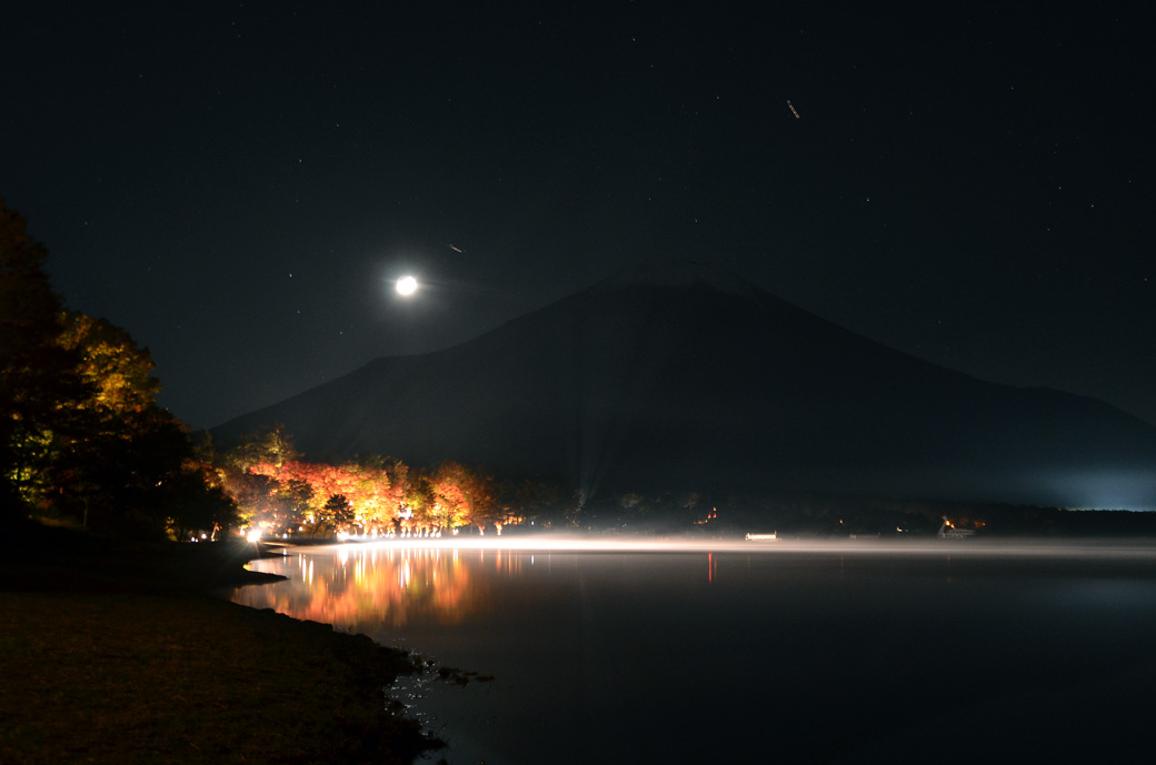 D70_6314山中湖夜