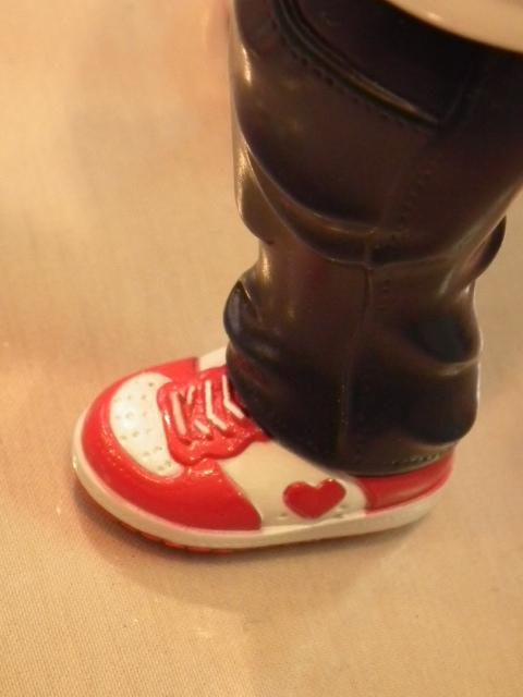ベアマックス氏の足。