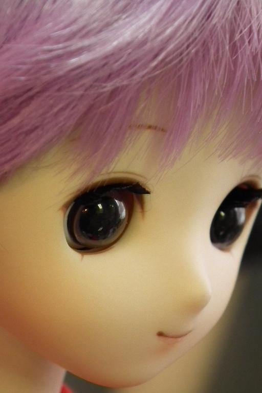 瞳孔大きすぎる。