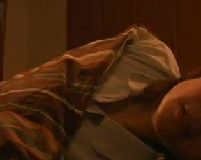 【村松恭子】汗だくで悶えまくりのオナニーシーン