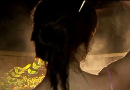 【本田理沙】色っぽい温泉入浴シーン