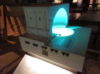 ニーム・貯水槽の復元模型