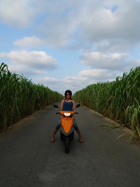 久米島 レンタルバイク