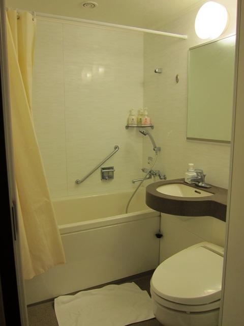ナハナホテル バスルーム