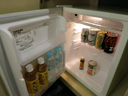 リーガロイヤルグラン沖縄 冷蔵庫