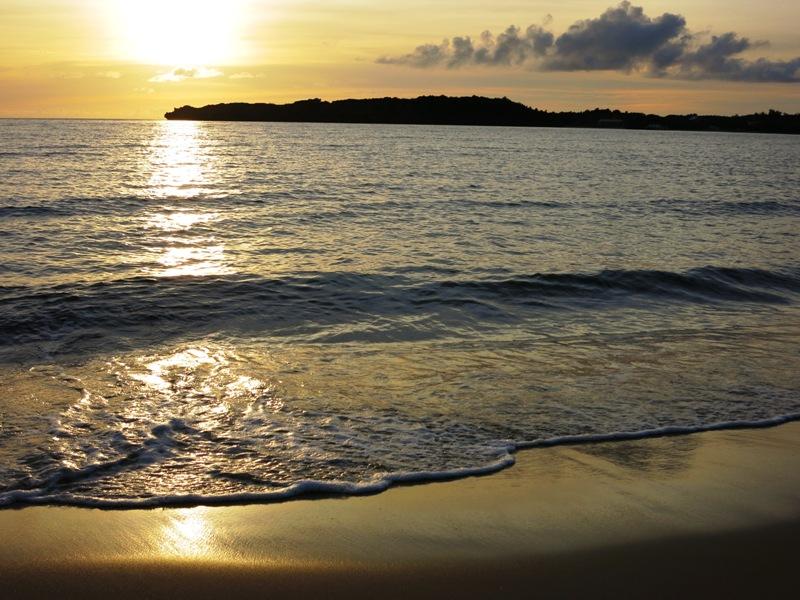 ニラカナイ西表島 夕日