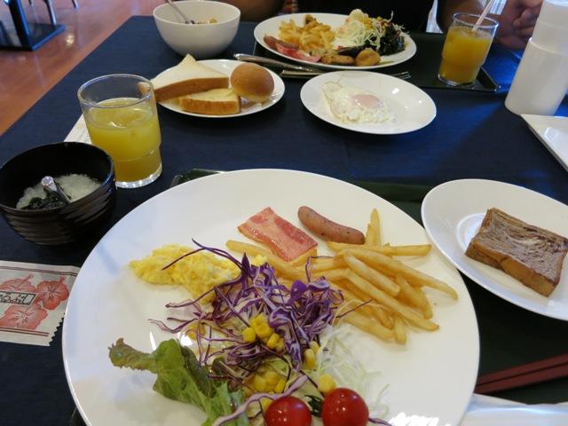 はいむるぶし 朝食