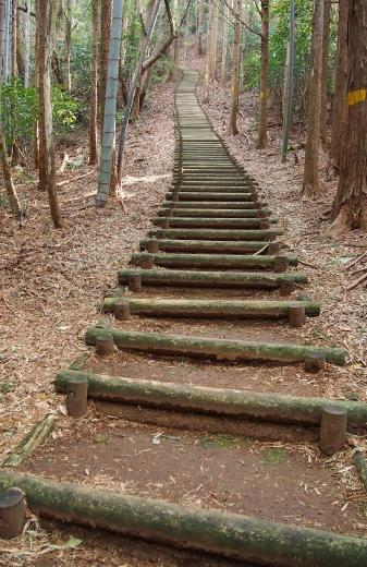 2拝ヶ石階段