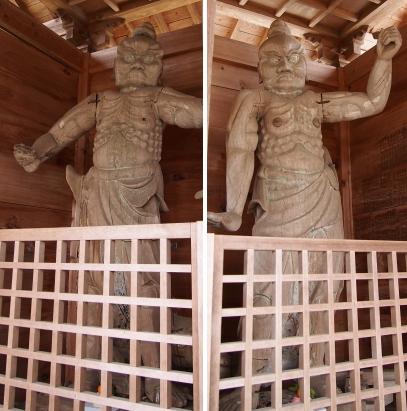 2福城寺仁王像