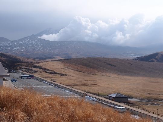 1中岳火口