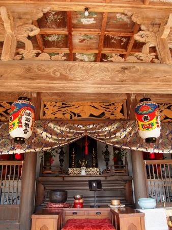 4瑞泉禅寺本堂内部
