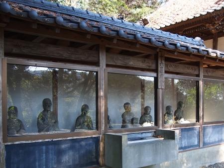 5瑞泉禅寺の十六羅漢