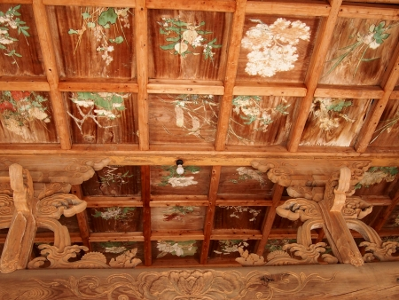 瑞泉禅寺天井画
