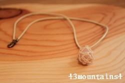 ローズクォーツ石包み (250x167)