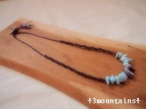 ラリマー×アメジスト ネックレス (300x225)