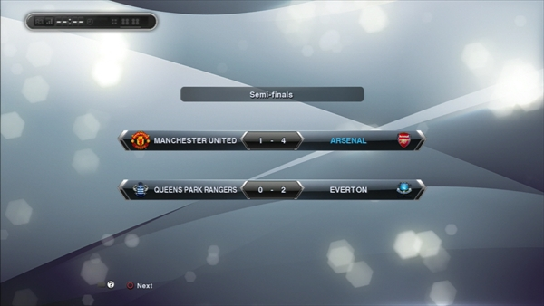 2年目FA CUP準決勝対戦結果