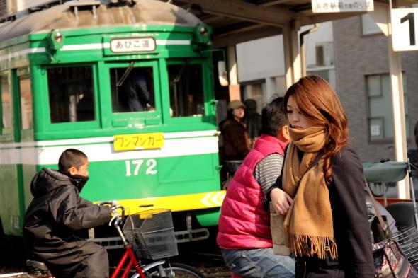 2011/12/29 阪堺電軌阪堺線 我孫子道