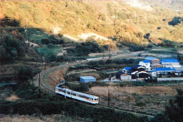 1984年か1985年頃 下津井電鉄