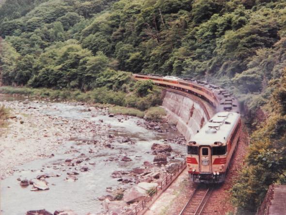 1980年代半ば 福知山線 生瀬~武田尾