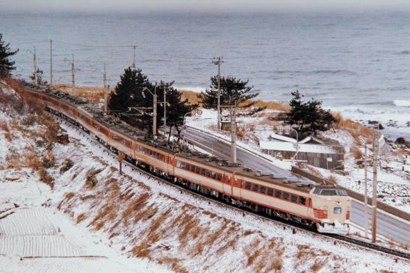 1985年3月 羽越本線 吹浦~小砂川