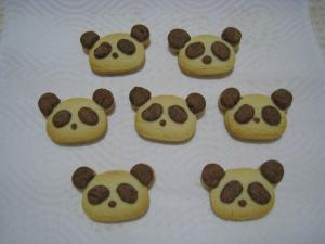 パンダちゃんクッキー