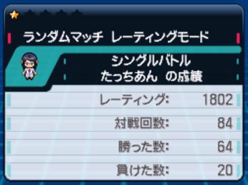 【ポケモンXY】レート100戦終えて勝率56%…… 相手の選出が読めない助けて
