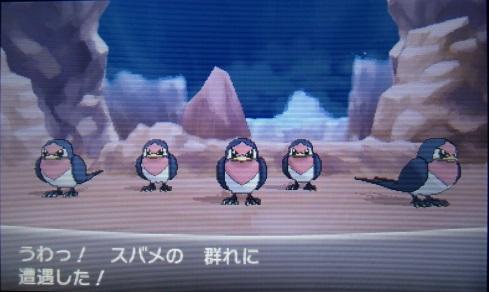 【ポケモンXY】【急募】スバメとグライオンを出してくるトレーナー