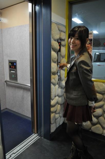エレベーター ゆうこさん
