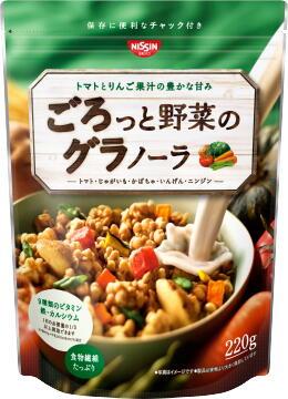日清シスコ ごろっと野菜のグラノーラ220g