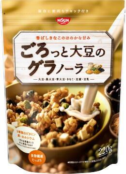 日清シスコ ごろっと大豆のグラノーラ220g