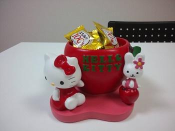 キティの花瓶