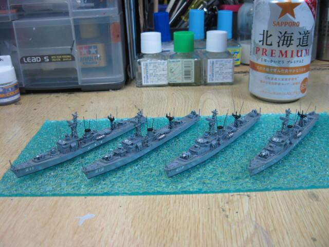 護衛艦 いすず型 4隻
