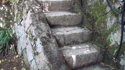階段をあがると・・