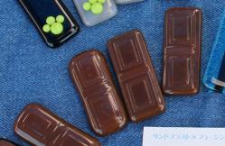 フュージングガラス小物 チョコレート