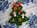 クリスマスオーナメント(フェルトツリー)