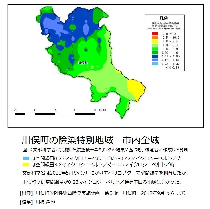 川俣町の除染特別地域