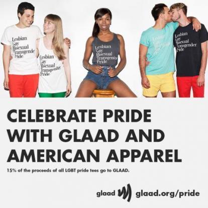 glaad american apparel 2013