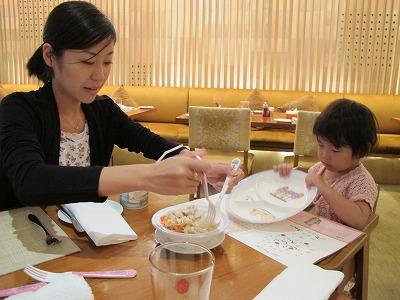 NEXT2レストランでディナータイムです♪ シャングリラ ホテル バンコク (Shangri-La Hotel, Bangkok) ファミリー旅行記