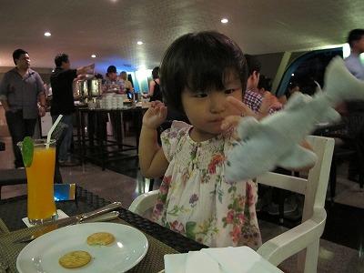 バンコクのファミリー旅行はシャングリラバンコクホテルホライズンリバークルーズ