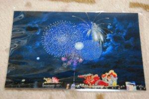 少路和伸さんの絵はがき(ポストカード)【ねぶた祭り】